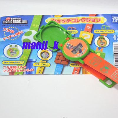 New Nintendo Super Mario Bros Wii PVC Digital Watch D